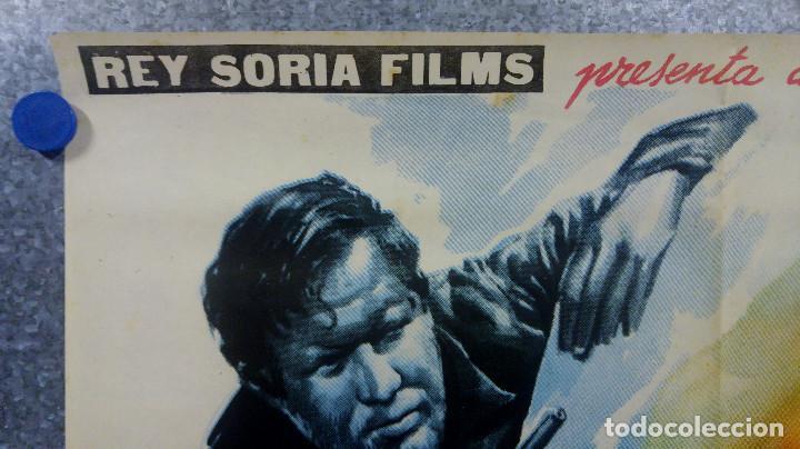 Cine: MISION INFERNAL. DULIO MARZIO, NELLY MEDENS . AÑO 1962. POSTER ORIGINAL - Foto 2 - 153563686