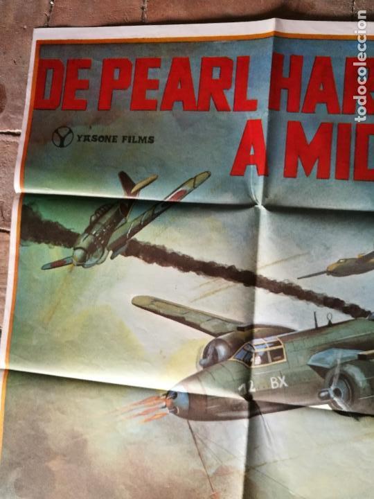 Cine: DE PEARL HARBOUR A MIDWAY - POSTER ORIGINAL 70X100 - Foto 2 - 153572518