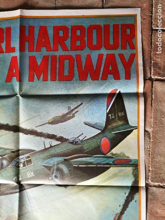 Cine: DE PEARL HARBOUR A MIDWAY - POSTER ORIGINAL 70X100 - Foto 3 - 153572518