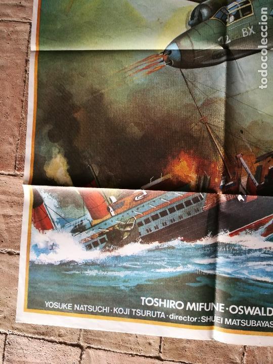 Cine: DE PEARL HARBOUR A MIDWAY - POSTER ORIGINAL 70X100 - Foto 4 - 153572518