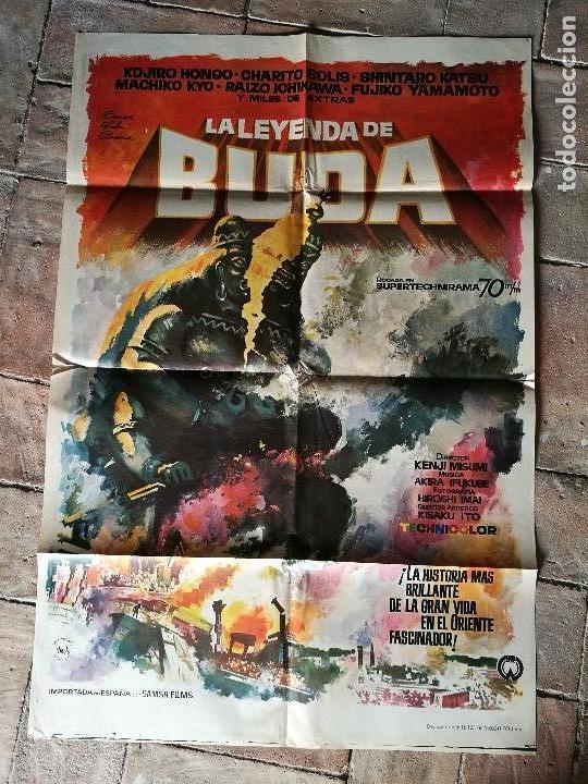 LA LEYENDA DE BUDA - POSTER ORIGINAL 70X100 (Cine - Posters y Carteles - Terror)