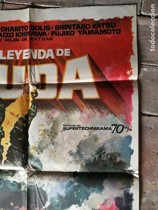 Cine: LA LEYENDA DE BUDA - POSTER ORIGINAL 70X100 - Foto 2 - 153576330
