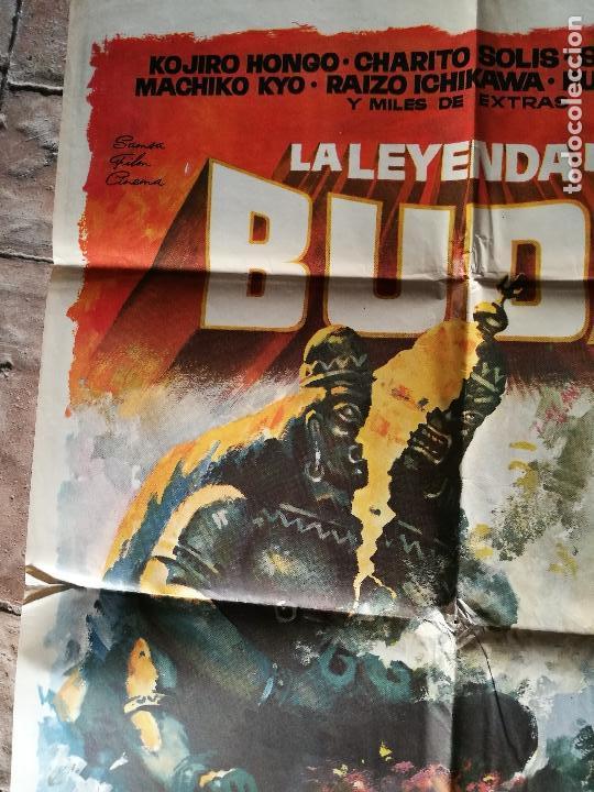 Cine: LA LEYENDA DE BUDA - POSTER ORIGINAL 70X100 - Foto 3 - 153576330
