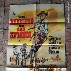Cine: REBELDES DE SAN ANTONIO POSTER ORIGINAL 70X100- . Lote 153580002