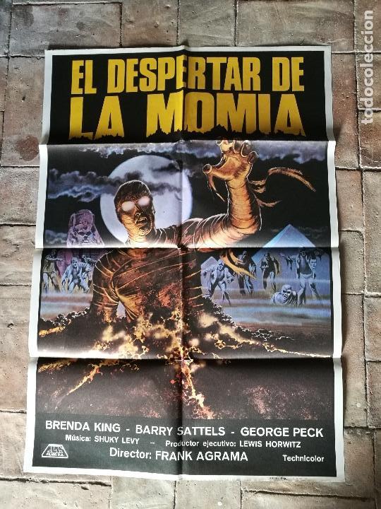 DESPERTAR DE LA MOMIA-- POSTER ORIGINAL 70X100- (Cine - Posters y Carteles - Terror)