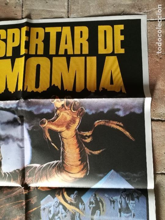 Cine: DESPERTAR DE LA MOMIA-- POSTER ORIGINAL 70X100- - Foto 2 - 153580490