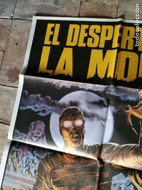 Cine: DESPERTAR DE LA MOMIA-- POSTER ORIGINAL 70X100- - Foto 3 - 153580490