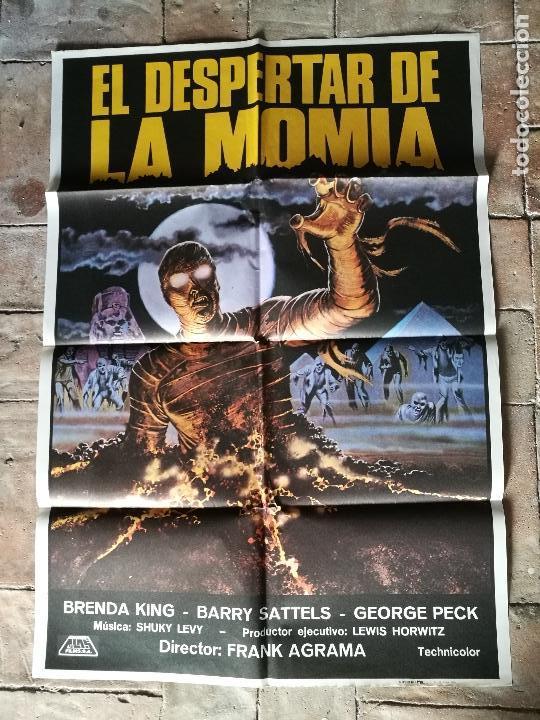 Cine: DESPERTAR DE LA MOMIA-- POSTER ORIGINAL 70X100- - Foto 6 - 153580490