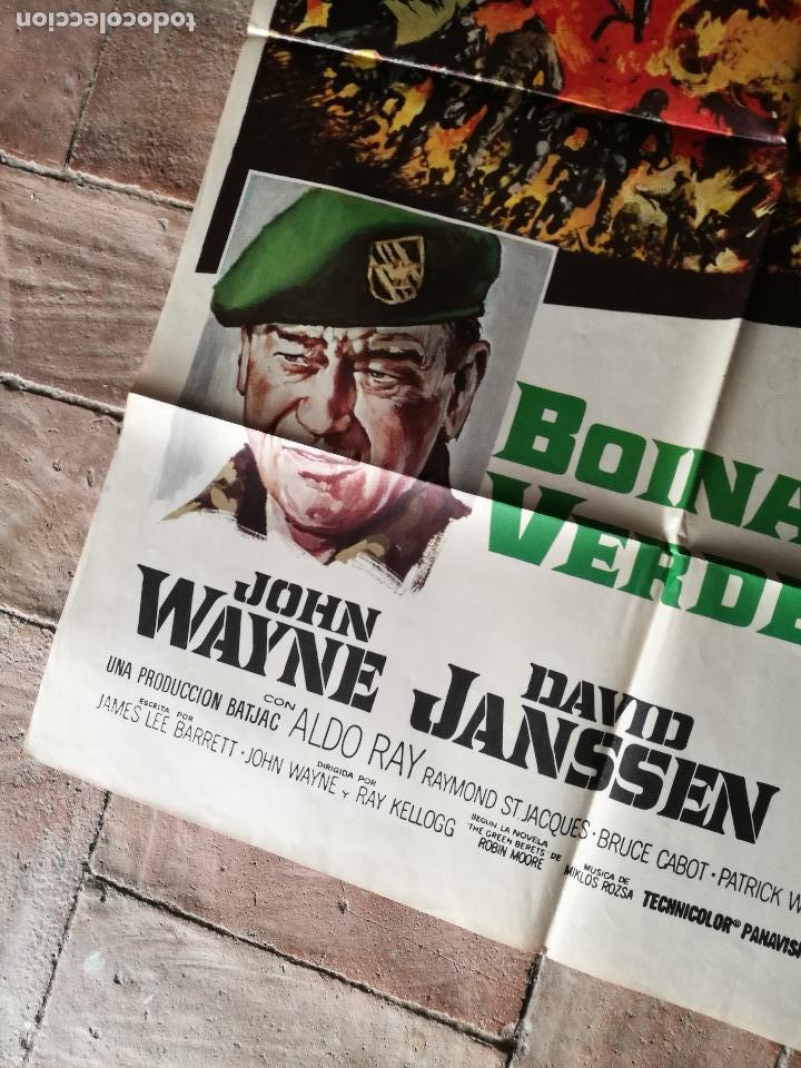 Cine: BOINAS VERDES- POSTER ORIGINAL 70X100- - Foto 4 - 153581722