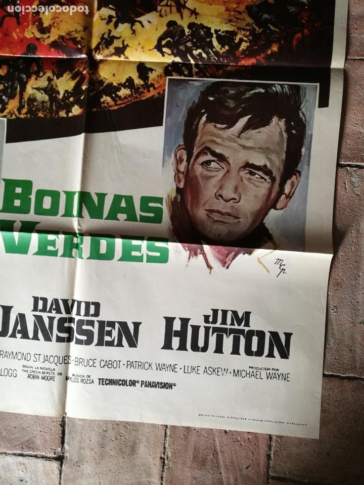 Cine: BOINAS VERDES- POSTER ORIGINAL 70X100- - Foto 5 - 153581722