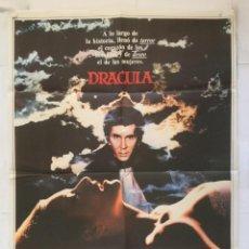 Cine: DRACULA - POSTER CARTEL ORIGINAL - FRANK LANGELLA LAURENCE OLIVIER JOHN BADHAM BRAM STOCKER. Lote 153638594