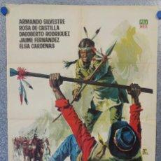 Cine: PUEBLO DE ODIOS. ARMANDO SILVESTRE, ROSA DE CASTILLA. AÑO 1965. POSTER ORIGINAL . Lote 153687830