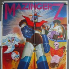 Cine: ZJ78 MAZINGER Z ROBOT JAPONES POSTER ORIGINAL 57X80 ESTRENO. Lote 153704750