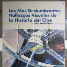 Cine: ZG37D 2001 UNA ODISEA DEL ESPACIO STANLEY KUBRICK POSTER ORIGINAL 3 HOJAS 100X205 DEL ESTRENO. Lote 153712538