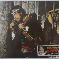 Cine: CARTEL DE CINE / TEPEPA / CARTEL ACARTONADO Y COLOREADO 49 X 39 CM. 1968. Lote 153810162