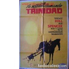 Cine: CARTEL LE SEGUÍAN LLAMANDO TRINIDAD. Lote 55835941