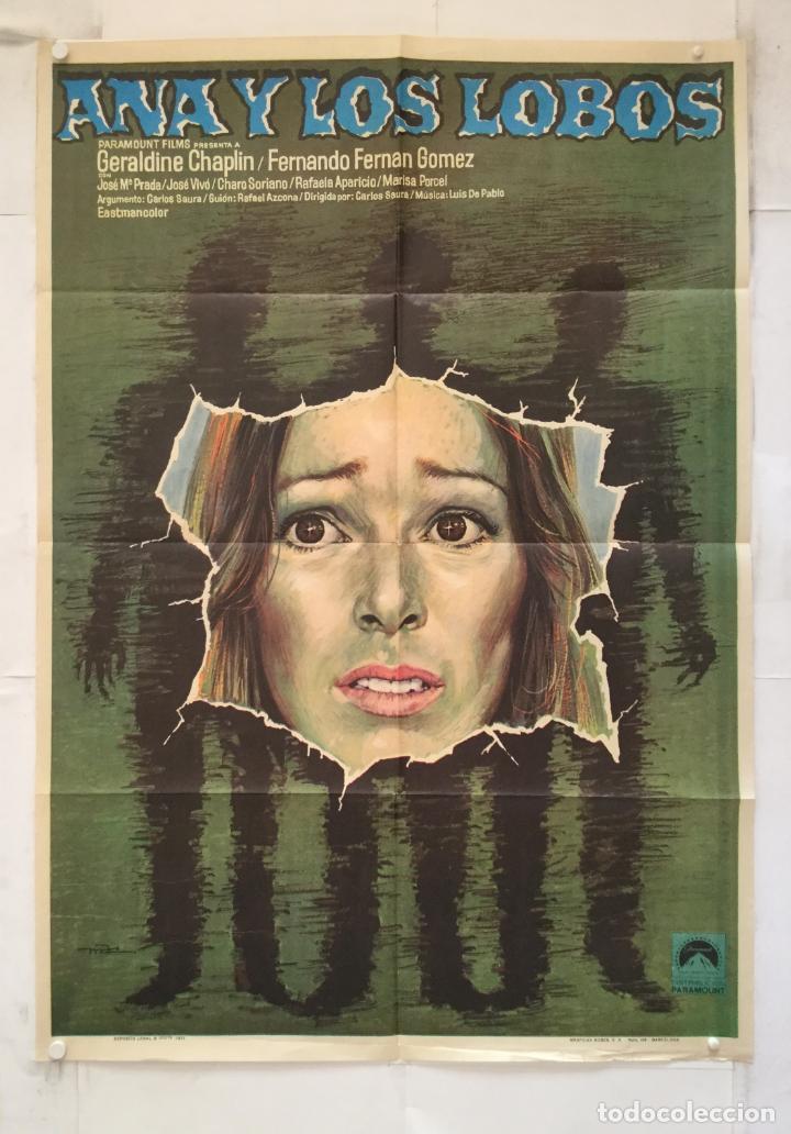 ana y los lobos - poster cartel original - carl - Buy Classic Spanish Film  Posters at todocoleccion - 154160774
