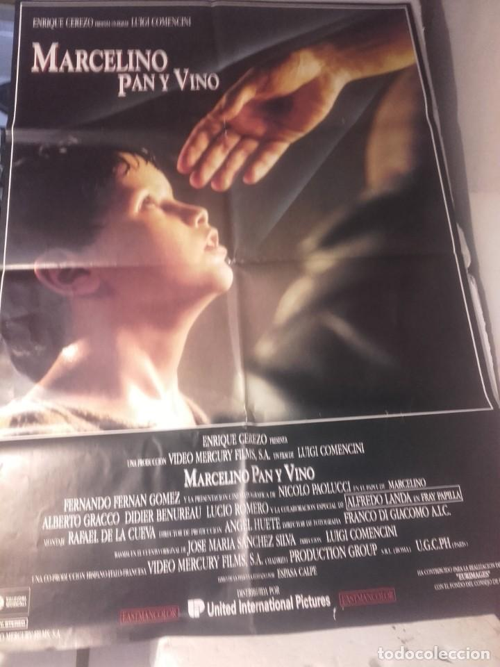 MARCELINO PAN Y VINO-POSTER, 7 FOTOCROMOS Y GUIA DOBLE (Cine- Posters y Carteles - Drama)