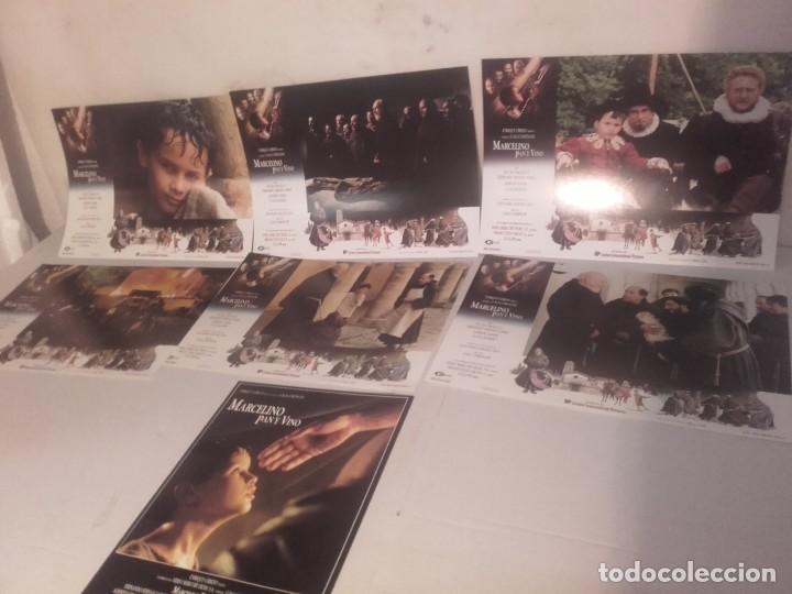 Cine: MARCELINO PAN Y VINO-POSTER, 7 FOTOCROMOS Y GUIA DOBLE - Foto 2 - 154187202