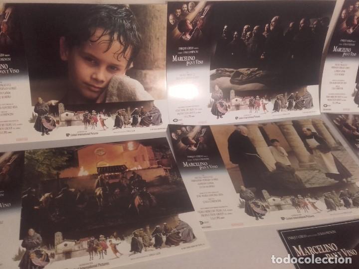 Cine: MARCELINO PAN Y VINO-POSTER, 7 FOTOCROMOS Y GUIA DOBLE - Foto 3 - 154187202