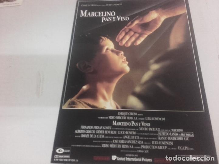 Cine: MARCELINO PAN Y VINO-POSTER, 7 FOTOCROMOS Y GUIA DOBLE - Foto 5 - 154187202
