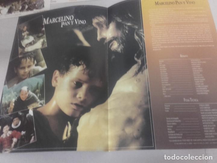 Cine: MARCELINO PAN Y VINO-POSTER, 7 FOTOCROMOS Y GUIA DOBLE - Foto 6 - 154187202