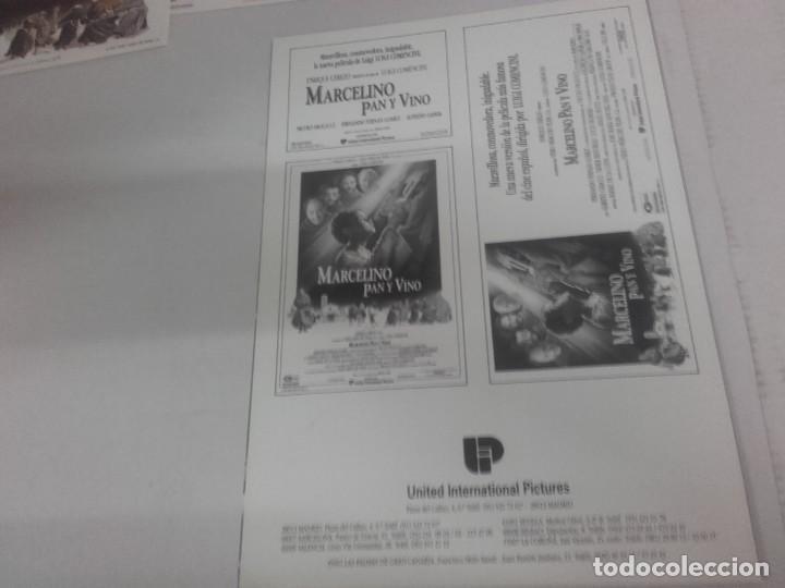 Cine: MARCELINO PAN Y VINO-POSTER, 7 FOTOCROMOS Y GUIA DOBLE - Foto 7 - 154187202