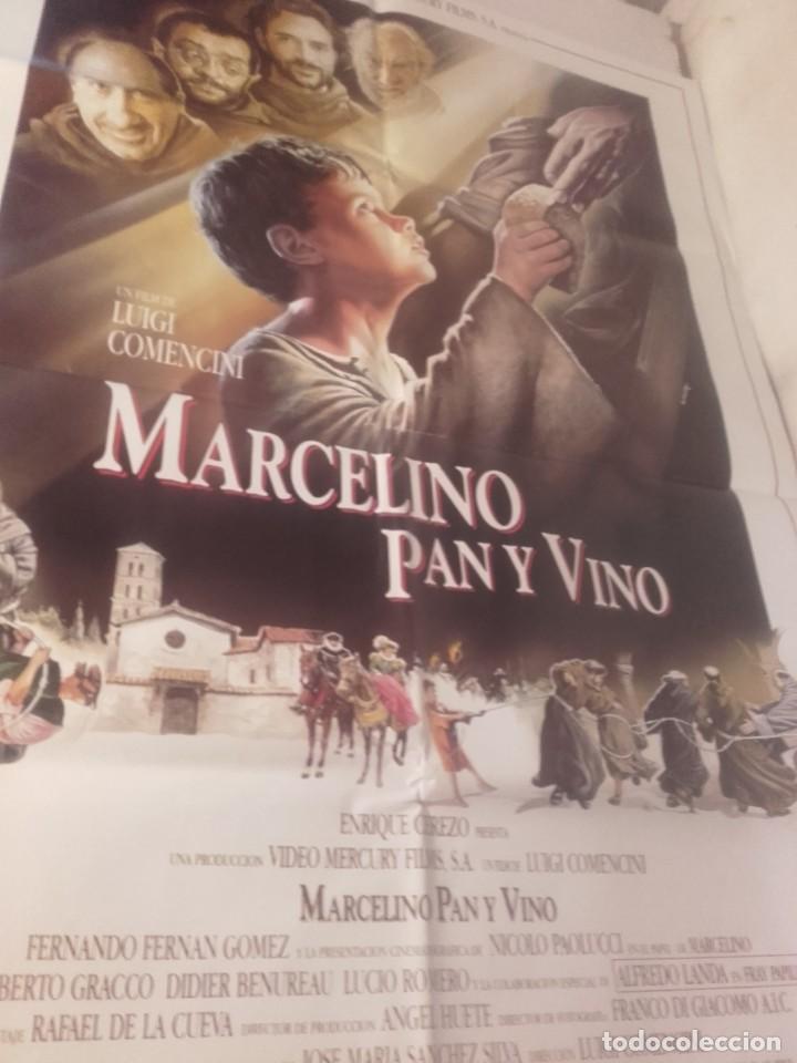 MARCELINO PAN Y VINO-POSTER, 6 FOTOCROMOS (Cine- Posters y Carteles - Drama)