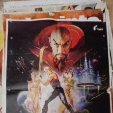 Cine: FLASH GORDON - POSTER CARTEL ORIGINAL - SAM L JONES RENATO CASAR. Lote 154248994