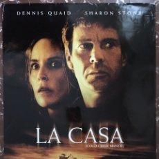 Cine: POSTER DE CINE. GRAN FORMATO. LA CASA. COLD CREEK MANOR. DENNIS QUAID. SHARON STONE.. Lote 154649288