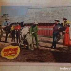 Cine: AFICHE DE CINE. PELÍCULA RODEO KING AND THE SENORITA. MEDIDAS 35X28CM.. Lote 154677598