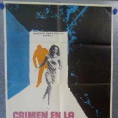 Cine: CRIMEN EN LA RESIDENCIA. MARK DAMON, ELEONORA BROWN. AÑO 1971. POSTER ORIGINAL. Lote 154684998