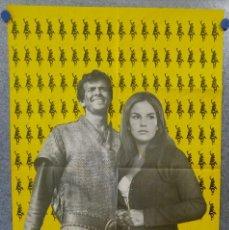 Cine: LOS CIEN CABALLEROS. MARK DAMON, ANTONELLA LUALDI AÑO 1964. POSTER ORIGINAL. Lote 154691722