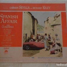 Cine: AFICHE DE CINE. PELÍCULA SPANISH AFFAIR. MEDIDAS 35X28CM. Lote 154700906