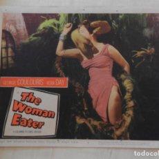 Cine: AFICHE DE CINE. PELÍCULA THE WOMAN EATER. MEDIDAS 36X28CM. Lote 154725530