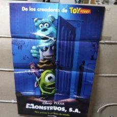Cine: MONSTRUOS S. A DISNEY POSTER ORIGINAL 70X100 YY (2005). Lote 154789772
