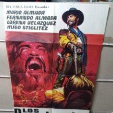 Cine: LOS DESALMADOS WESTERN POSTER ORIGINAL 70X100 YY (2013). Lote 154803884