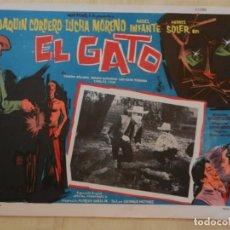 Cine: AFICHE DE CINE. PELÍCULA EL GATO. MEDIDAS 36X28CM. Lote 154817390