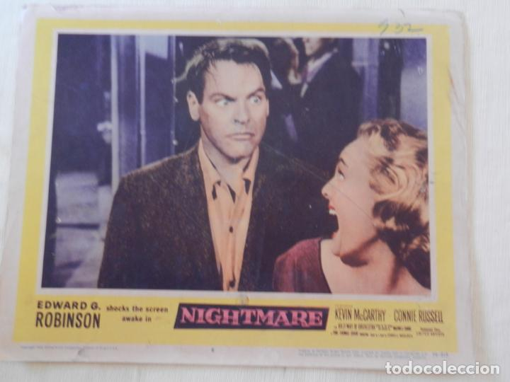 AFICHE DE CINE. PELÍCULA NIGHTMARE. MEDIDAS 36X28CM (Cine - Posters y Carteles - Terror)