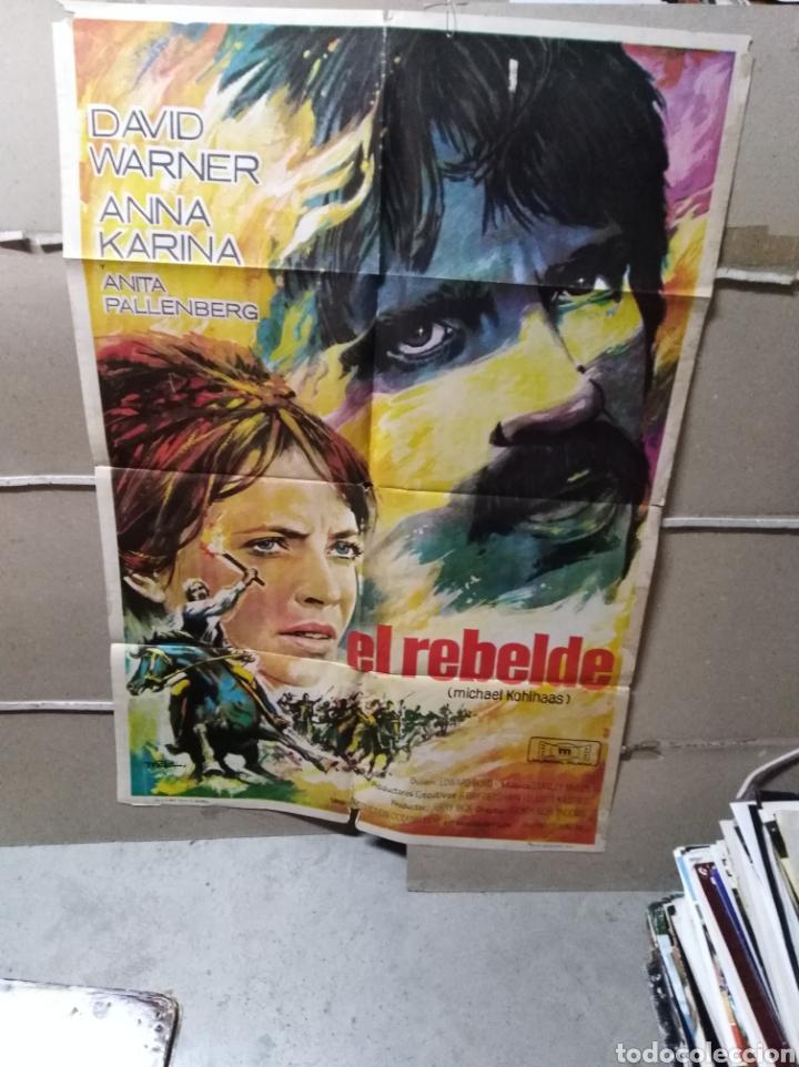 EL REBELDE ANNA KARINA POSTER ORIGINAL 70X100 YY (2025) MAC (Cine- Posters y Carteles - Drama)