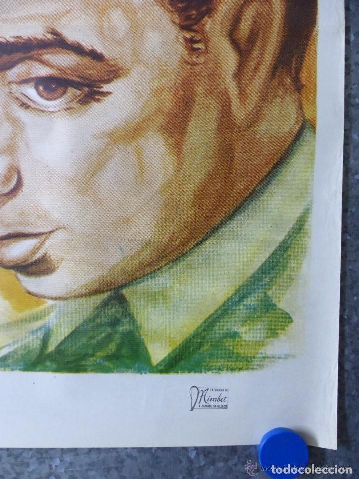 Cine: EMBRUJO - LOLA FLORES, MANOLO CARACOL, OFSSET - AÑO 1966 - ilustrador: GALLARDO ORTEGA - Foto 3 - 188469716