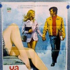 Cine: YA SOMOS HOMBRES. VALENTÍN TRUJILLO, OCTAVIO GALINDO. AÑO 1971. POSTER ORIGINAL. Lote 154992318