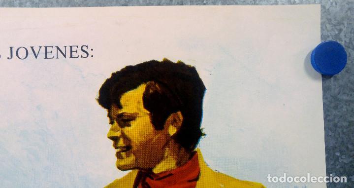Cine: Ya somos hombres. Valentín Trujillo, Octavio Galindo. AÑO 1971. POSTER ORIGINAL - Foto 3 - 154992318