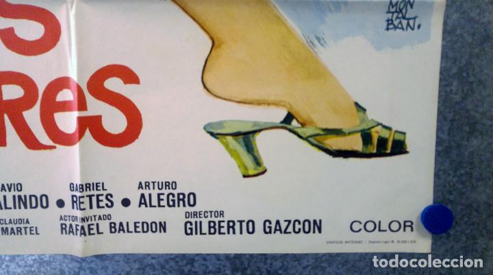 Cine: Ya somos hombres. Valentín Trujillo, Octavio Galindo. AÑO 1971. POSTER ORIGINAL - Foto 4 - 154992318
