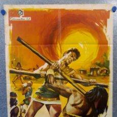 Cinéma: HÉRCULES CONTRA LOS HIJOS DEL SOL. MARK FOREST, ANNA-MARIA PACE AÑO 1965 POSTER ORIGINAL. Lote 187314363