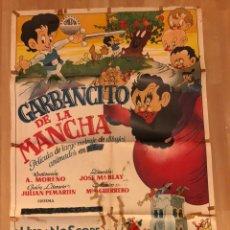 Cine: CARTEL POSTER GARBANCITO DE LA MANCHA.98X68 CM. Lote 154997346