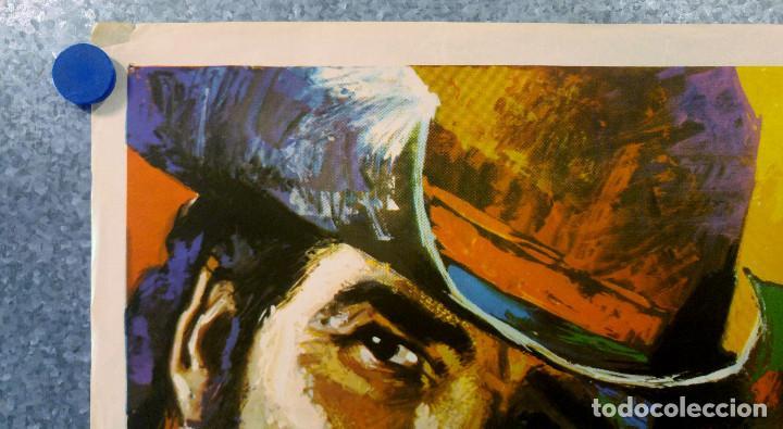 Cine: Cabalgando al infierno. James Garner, Dennis Weaver, Claude AkinsAÑO 1971. POSTER ORIGINAL - Foto 2 - 155337782