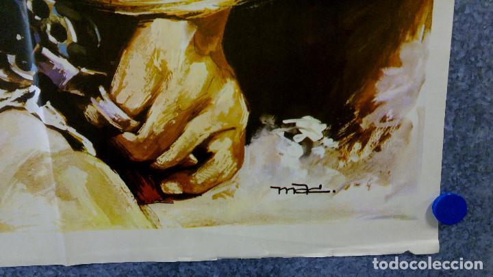 Cine: Cabalgando al infierno. James Garner, Dennis Weaver, Claude AkinsAÑO 1971. POSTER ORIGINAL - Foto 4 - 155337782