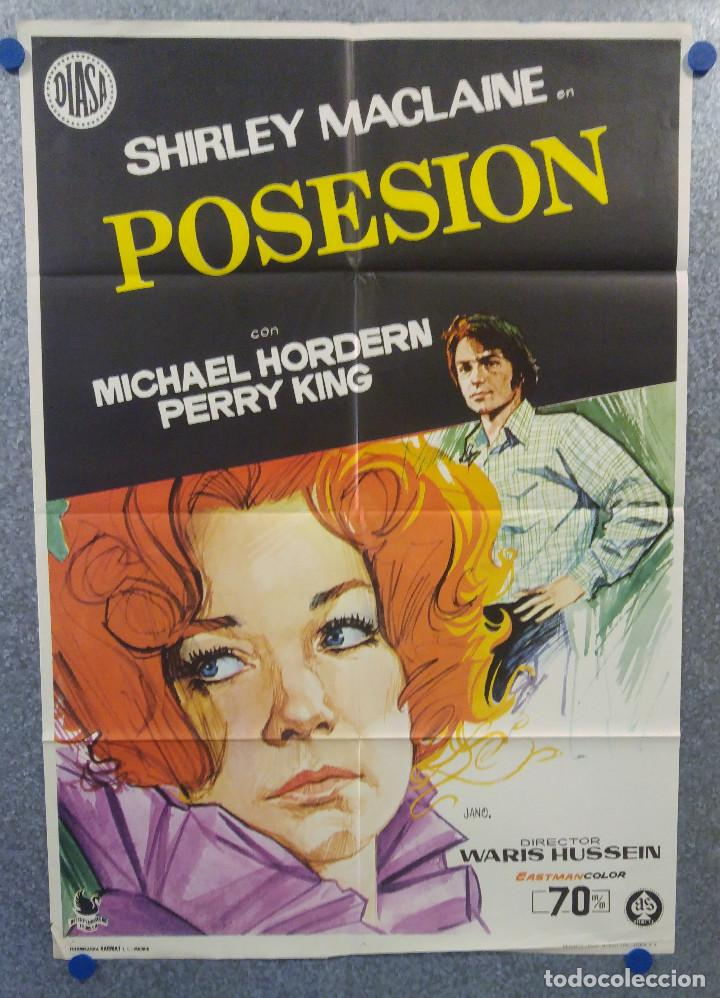 POSESION. SHIRLEY MACLAINE, MICHAEL HORDERN. AÑO 1973. POSTER ORIGINAL (Cine - Posters y Carteles - Terror)