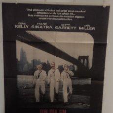 Cine: UN DÍA EN NUEVA YORK - GENE KELLY -FRANK SINATRA -BETTY GARRETT- DIRECTOR GENE KELLY Y STANLEY DONEN. Lote 155666538